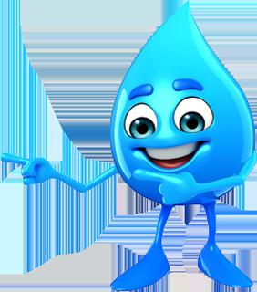 Wassertropfen Zeige